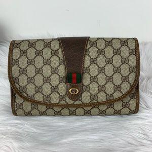 Gucci orphidia canvas clutch